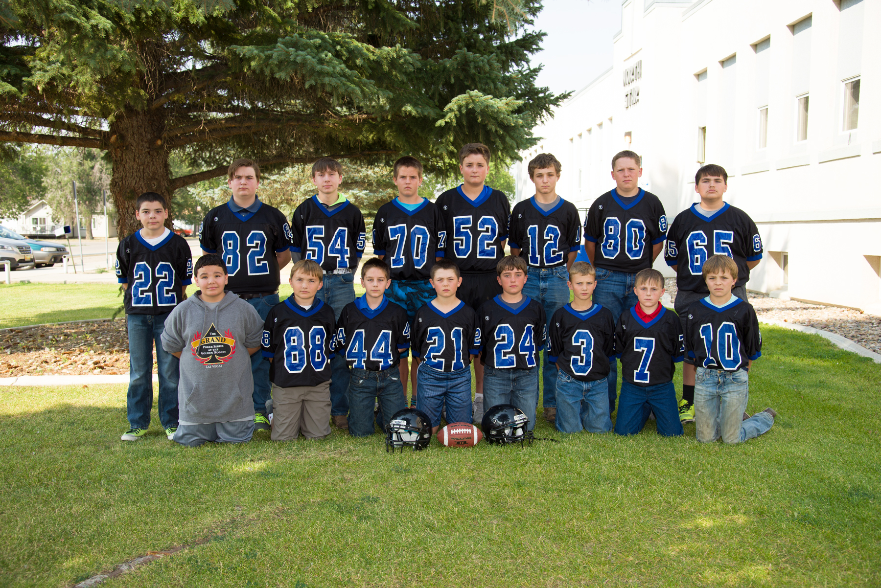 Junior High Football Picture 2017